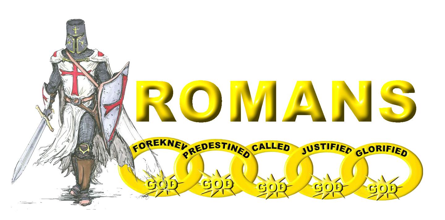 romans logo kniight png