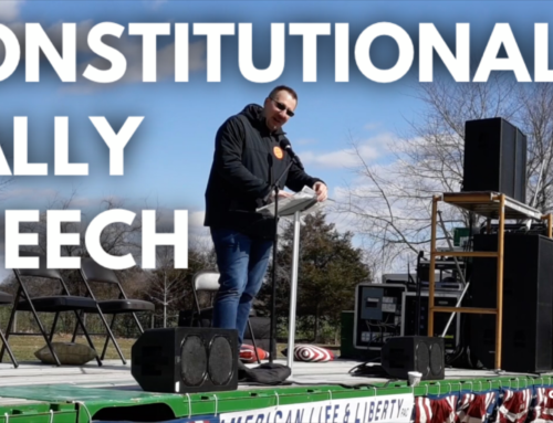 Fauquier County Constitutional Rally Speech (Transcript & Video)