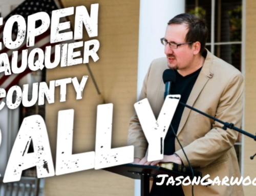 Reopen Fauquier County Rally Speech