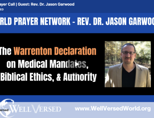 Interview with Jim Garlow from the World Prayer Network